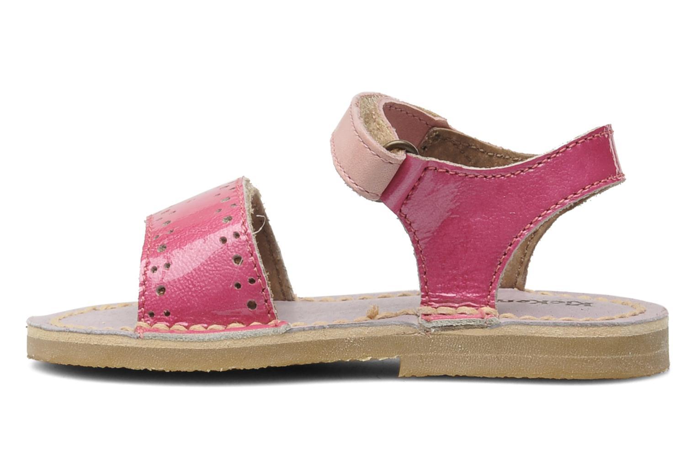 Sandalen Kickers Cerise Roze voorkant