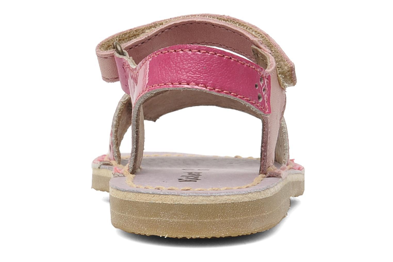 Sandalen Kickers Cerise Roze rechts