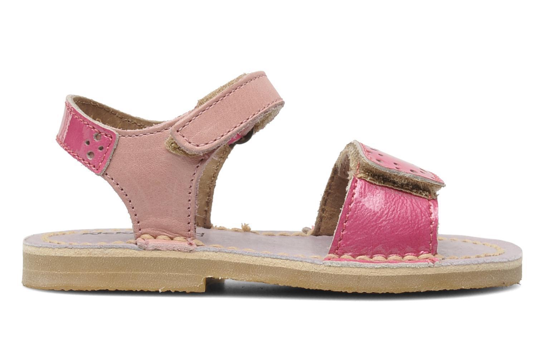 Sandalen Kickers Cerise Roze achterkant