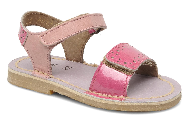 Sandalen Kickers Cerise Roze detail