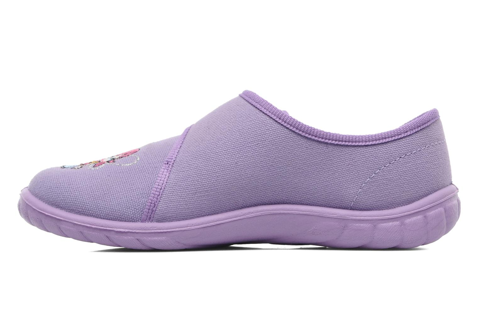 Chaussons Giesswein Farven Violet vue face