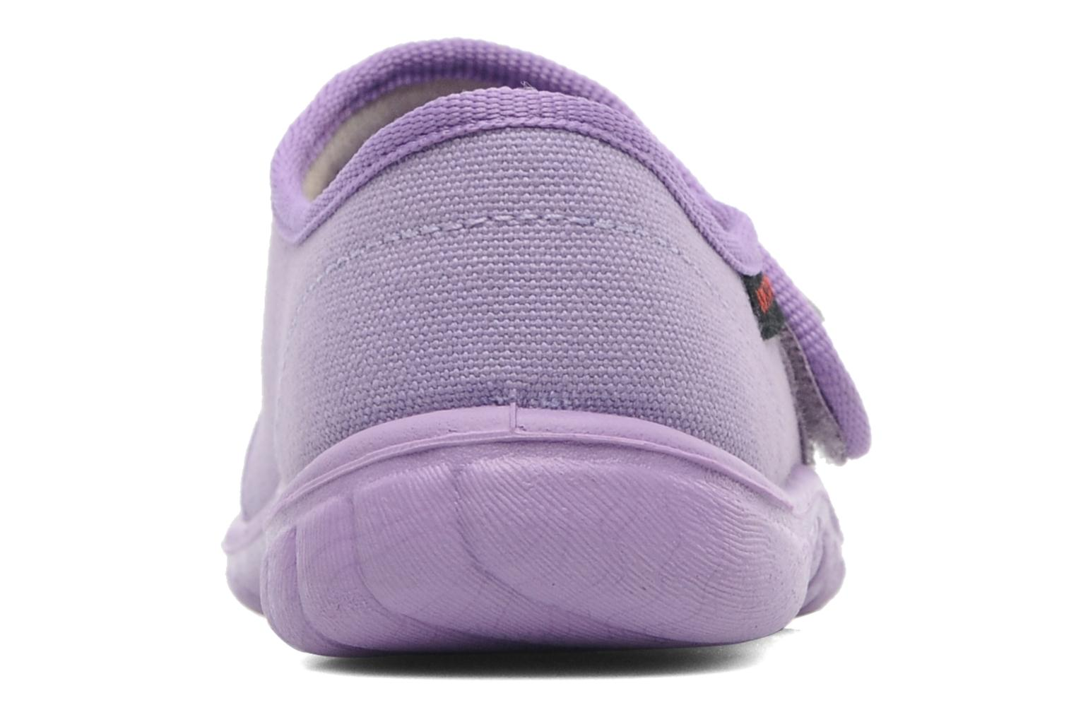 Chaussons Giesswein Farven Violet vue droite