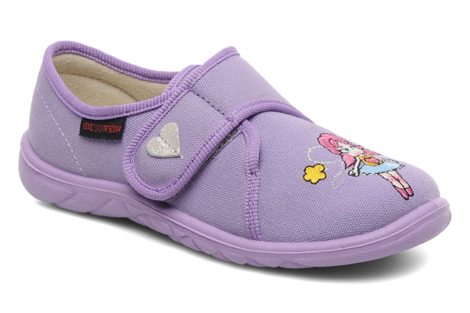 Chaussons Giesswein Farven Violet vue détail/paire