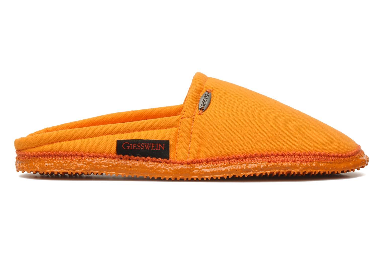 Chaussons Giesswein Villach W Orange vue derrière