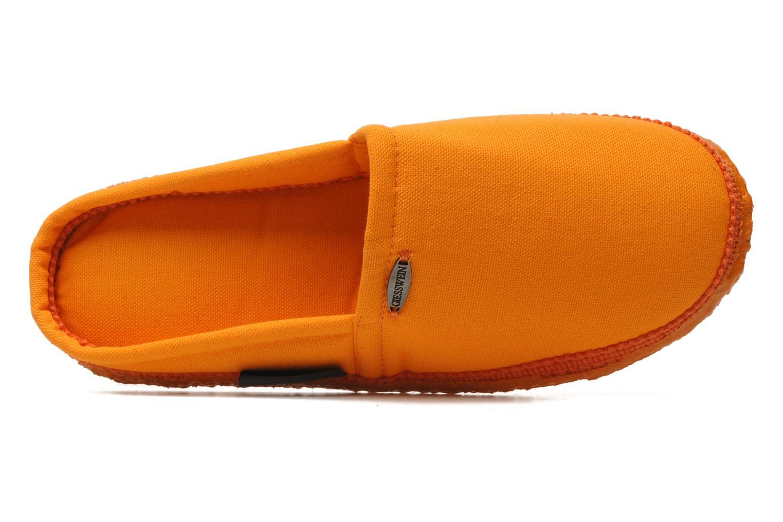 Chaussons Giesswein Villach W Orange vue gauche