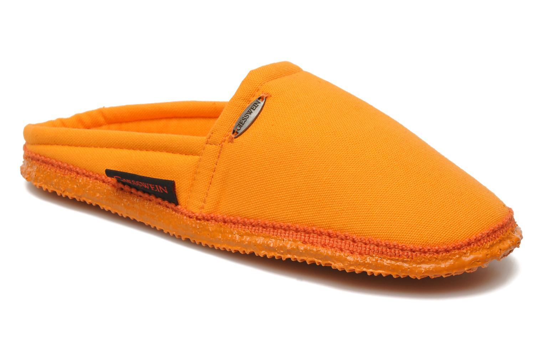 Chaussons Giesswein Villach W Orange vue détail/paire