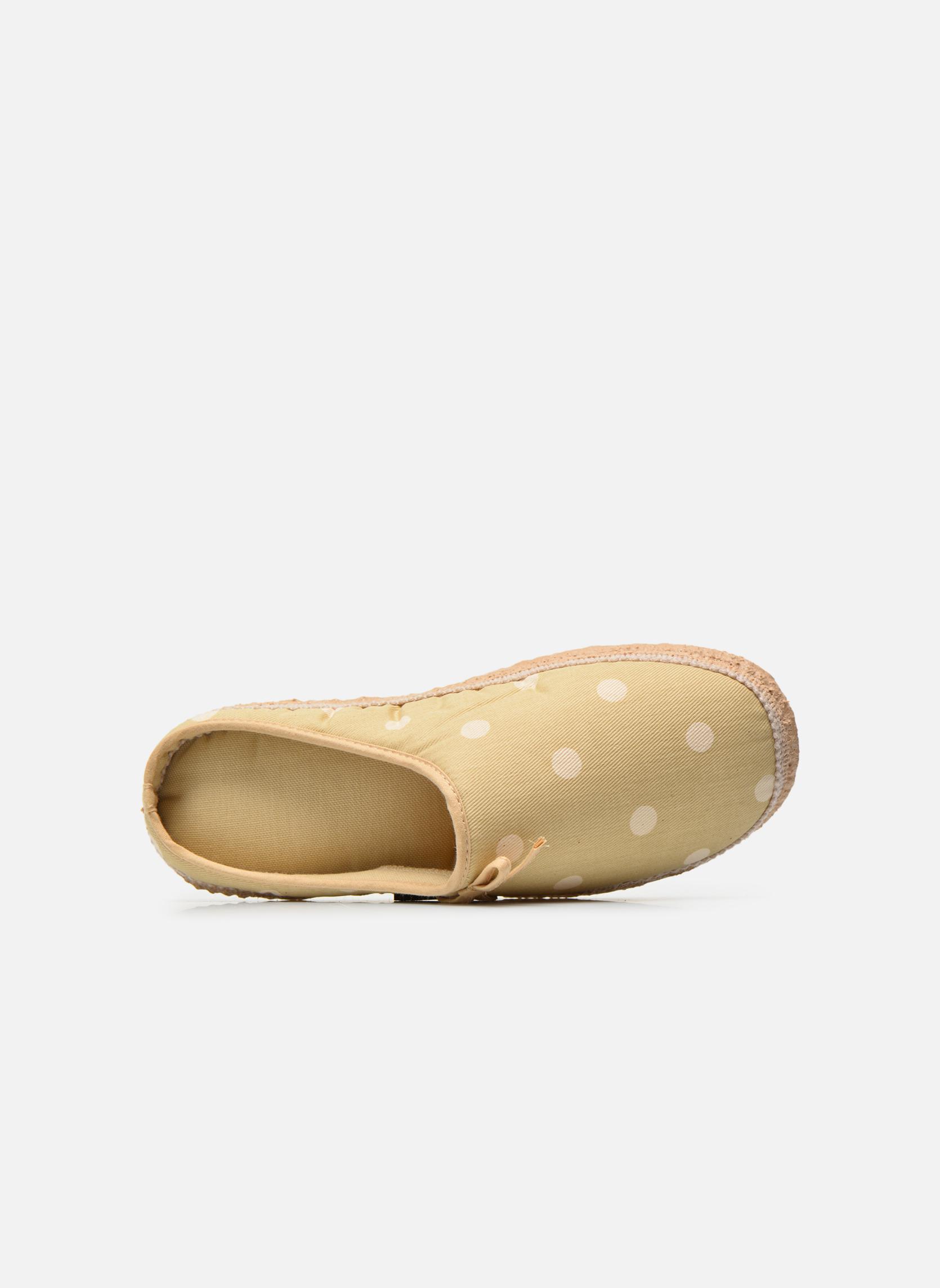 Pantofole Giesswein Plein Beige immagine sinistra