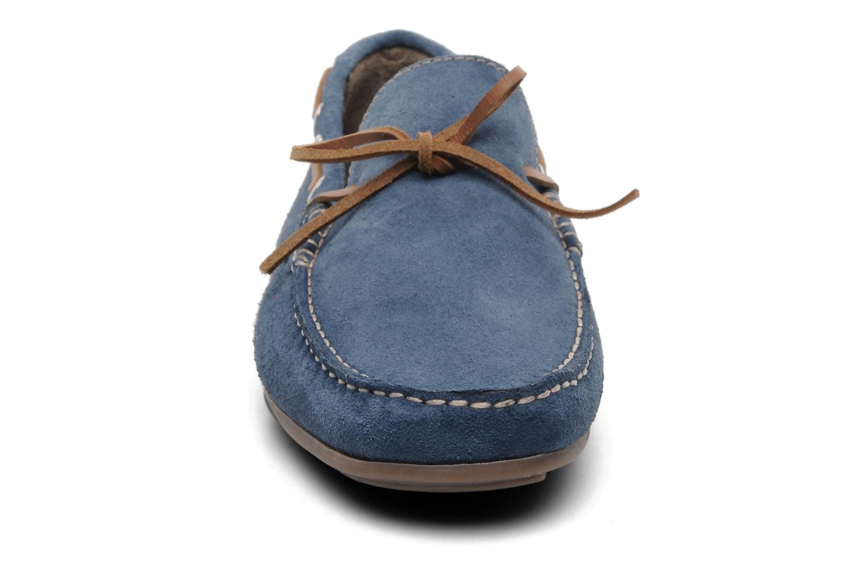 Slipper Xti Alberto blau schuhe getragen