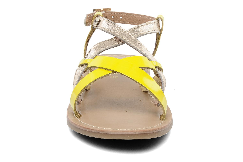 Sandalen Les Tropéziennes par M Belarbi Yogi E gold/bronze schuhe getragen