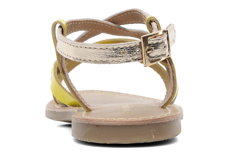 Sandalen Les Tropéziennes par M Belarbi Yogi E Goud en brons rechts