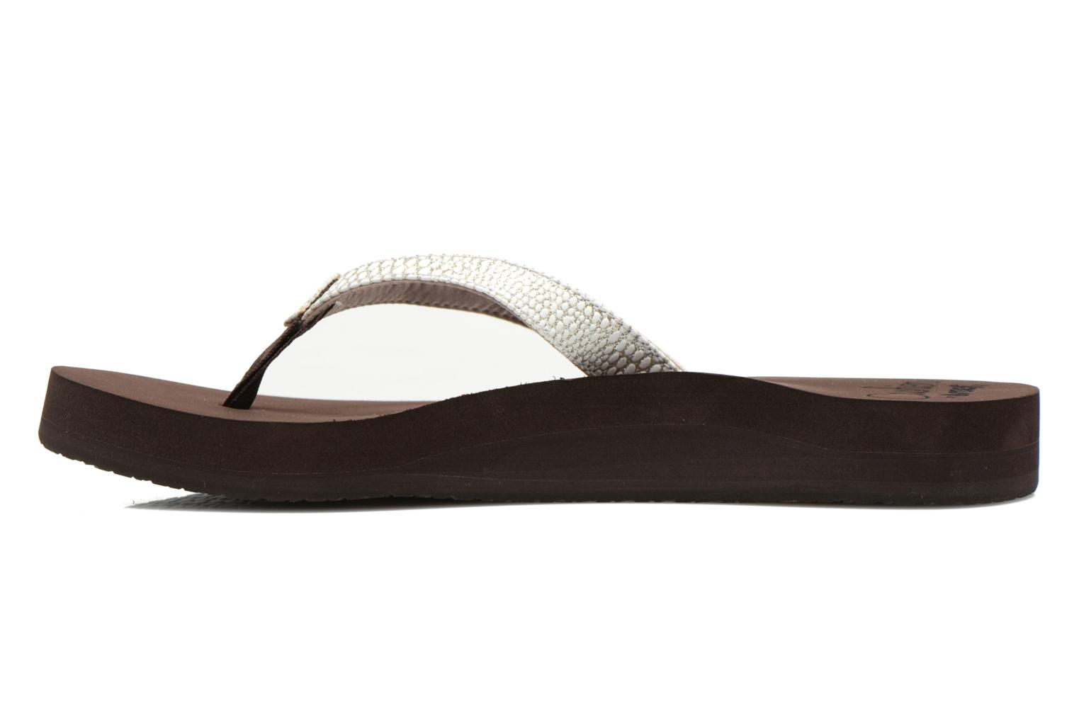 Slippers Reef Star Cushion Sassy Bruin voorkant