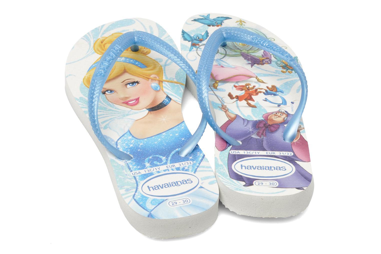 Slippers Havaianas Slim Princess Blauw 3/4'
