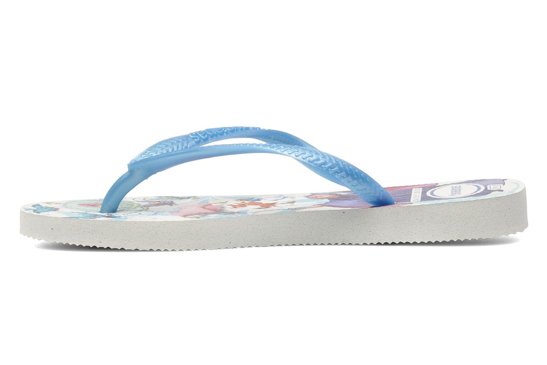 Slippers Havaianas Slim Princess Blauw voorkant