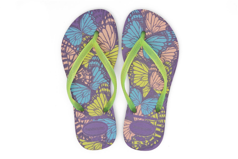 Slippers Havaianas Kids Slim Fashion Multicolor 3/4'