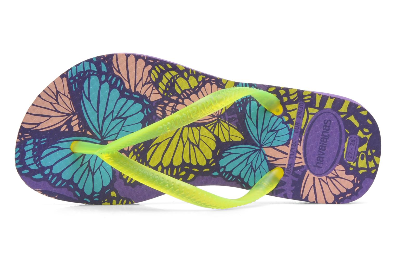 Chanclas Havaianas Kids Slim Fashion Multicolor vistra trasera