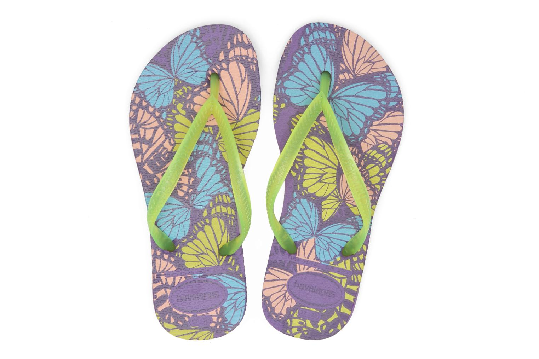 Slippers Havaianas Kids Slim Fashion Multicolor boven