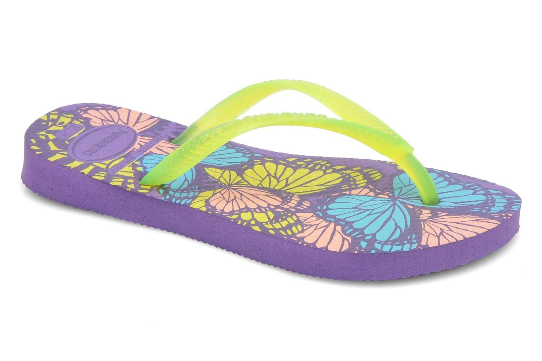 Tongs Havaianas Kids Slim Fashion Multicolore vue détail/paire