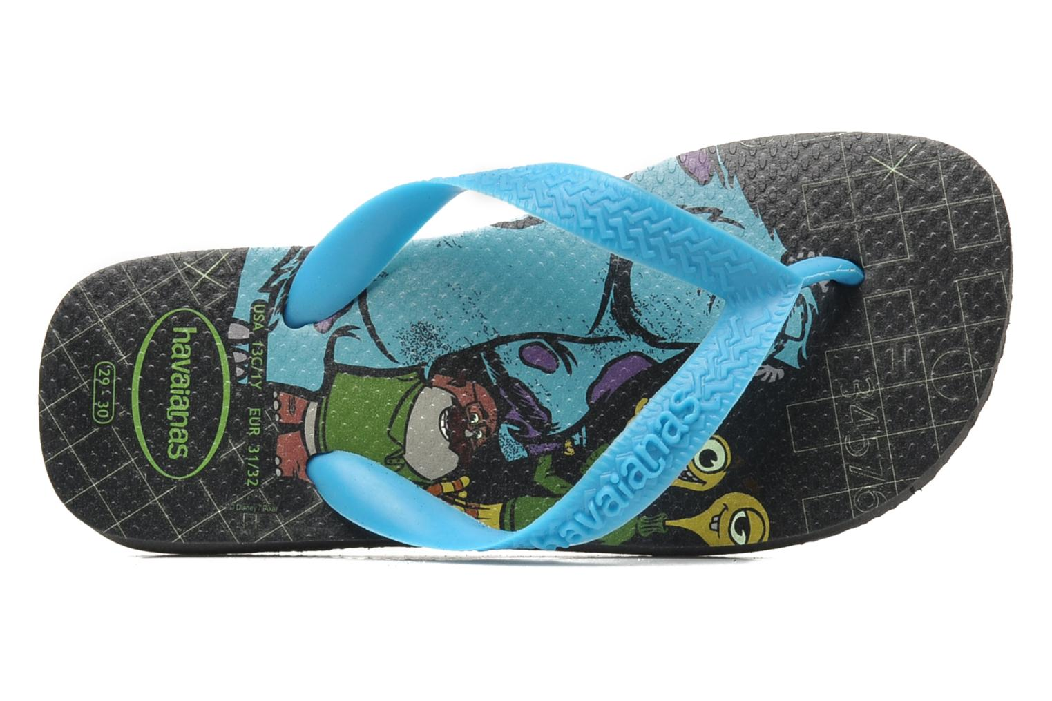 Tongs Havaianas Kids Monster Noir vue gauche