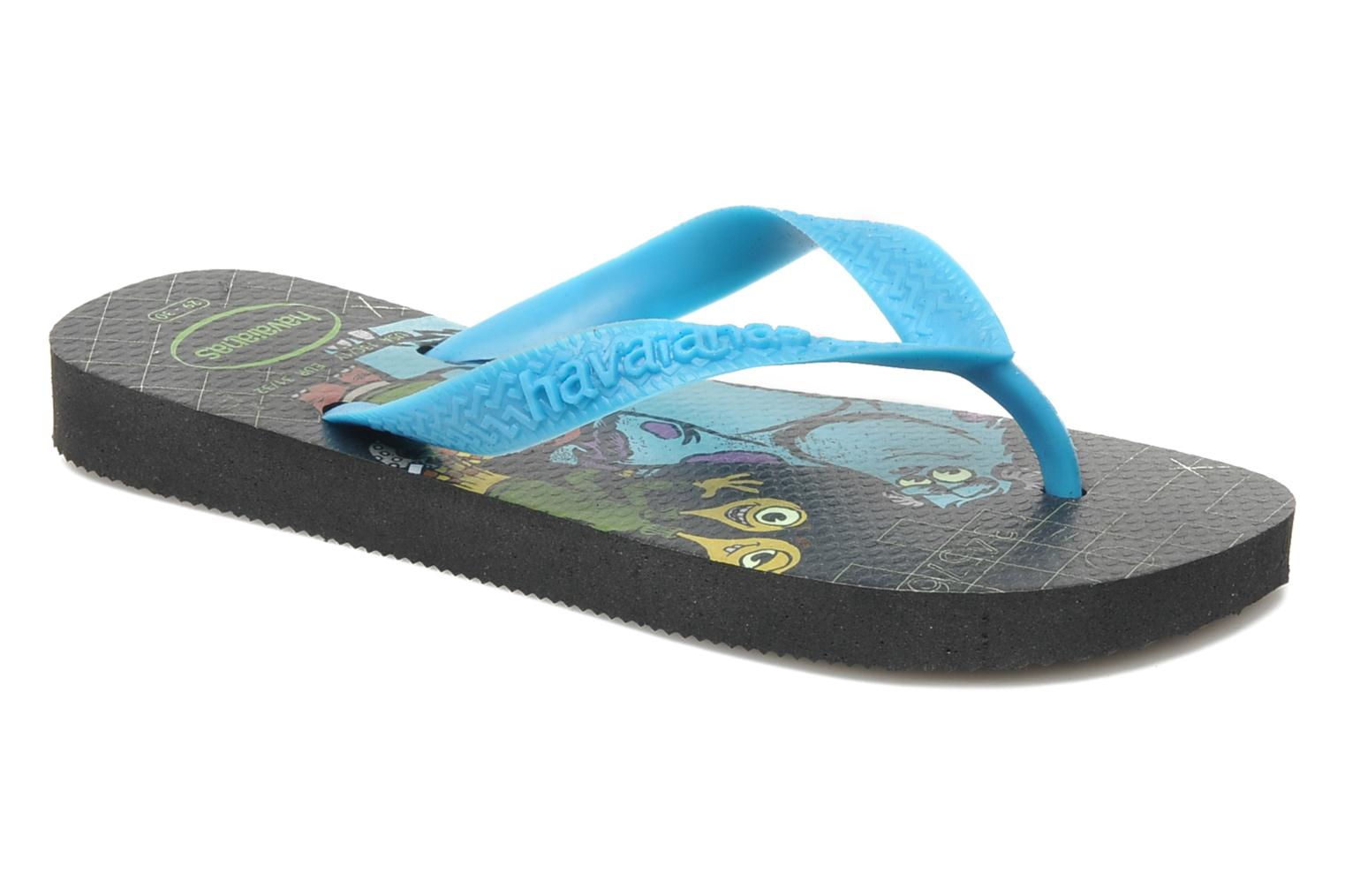 Tongs Havaianas Kids Monster Noir vue détail/paire