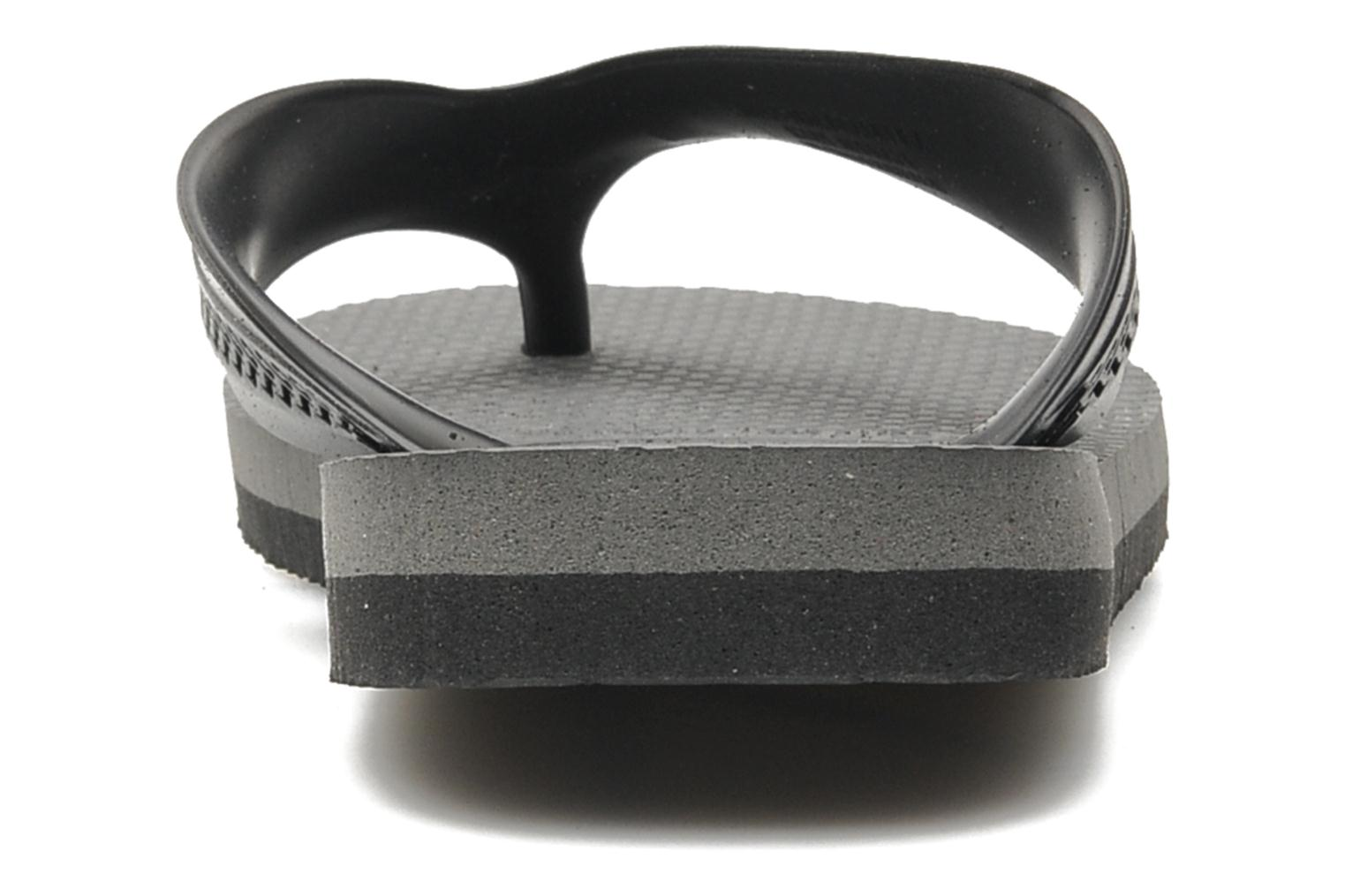 Flip flops Havaianas Kids Max Black view from the right