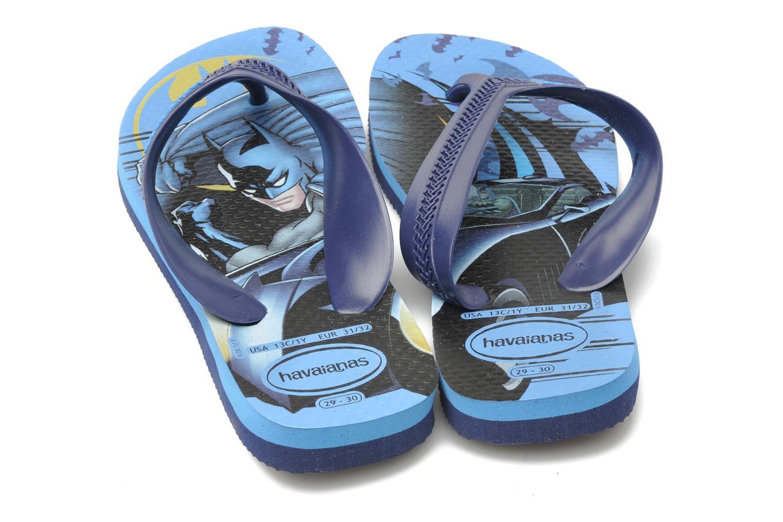 Slippers Havaianas Kids Max Heroes Blauw 3/4'