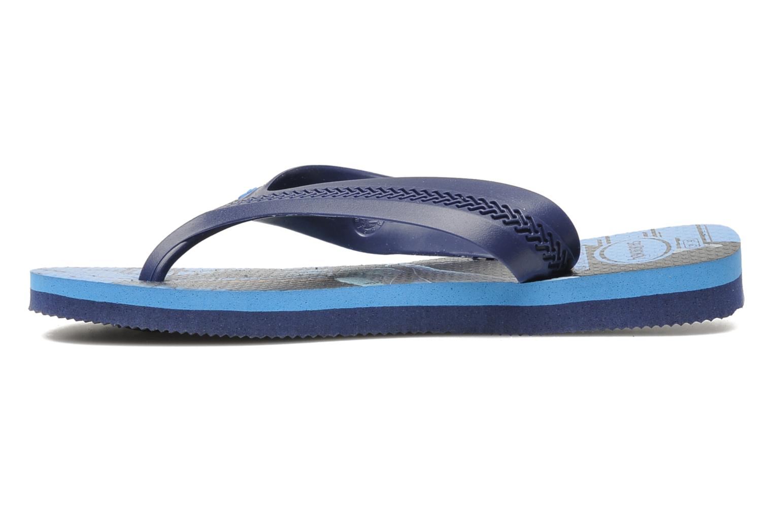 Tongs Havaianas Kids Max Heroes Bleu vue face