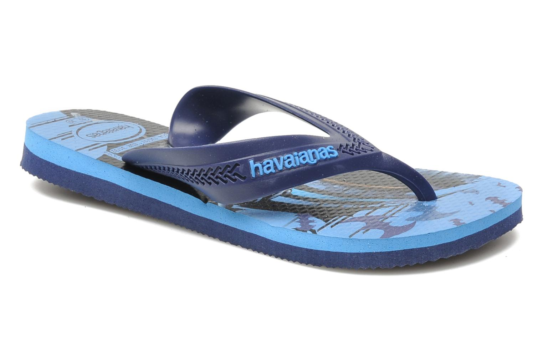 Slippers Havaianas Kids Max Heroes Blauw detail