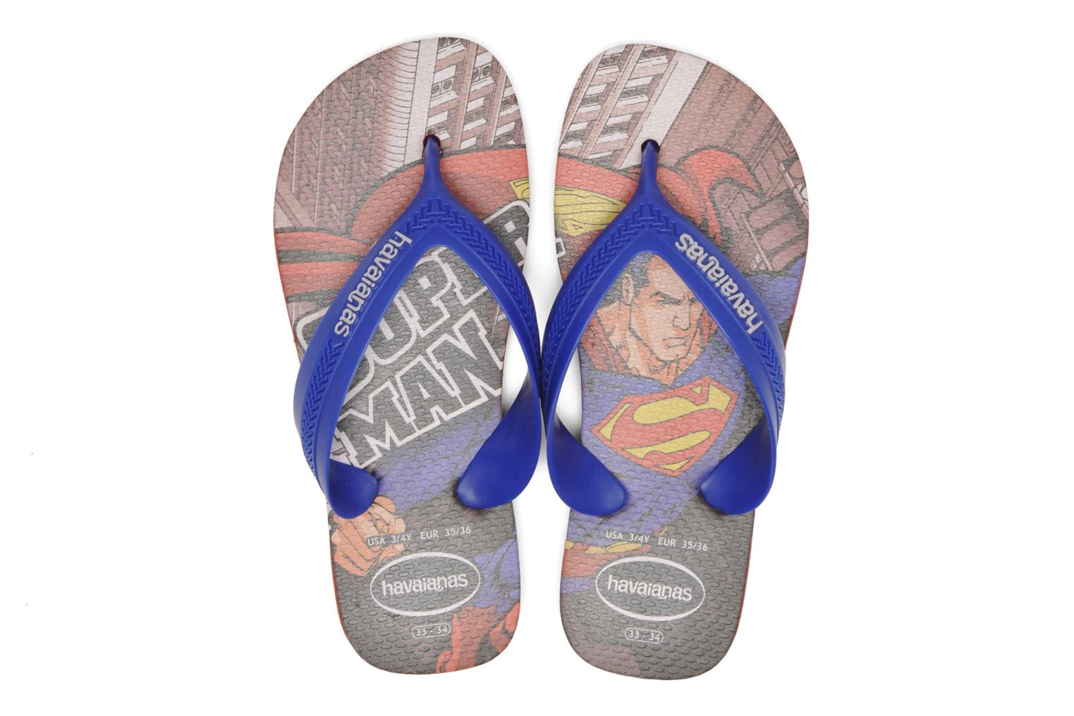 Tongs Havaianas Kids Max Heroes Multicolore vue haut
