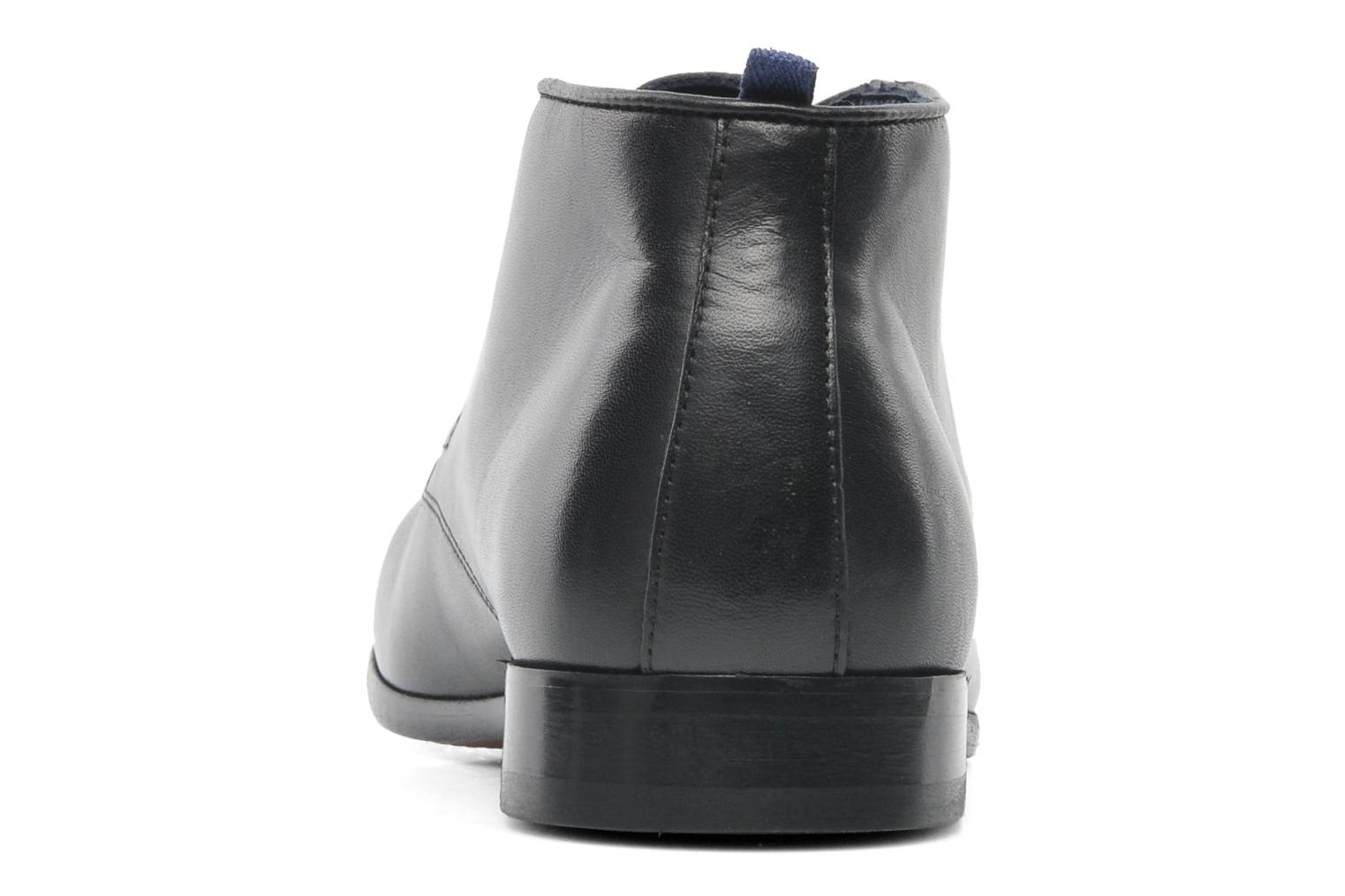 Lace-up shoes Azzaro Ison Black view from the right
