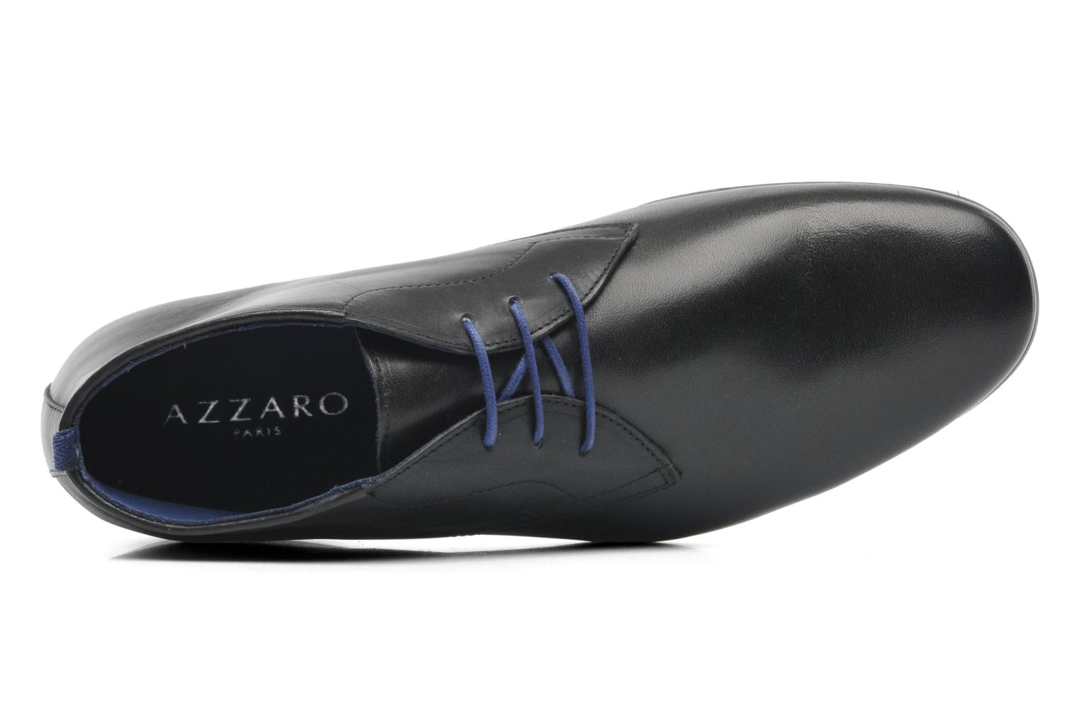 Lace-up shoes Azzaro Ison Black view from the left