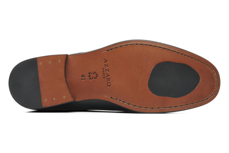 Chaussures à lacets Azzaro Ison Noir vue haut