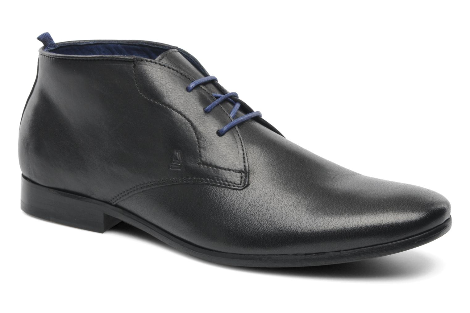 Lace-up shoes Azzaro Ison Black detailed view/ Pair view