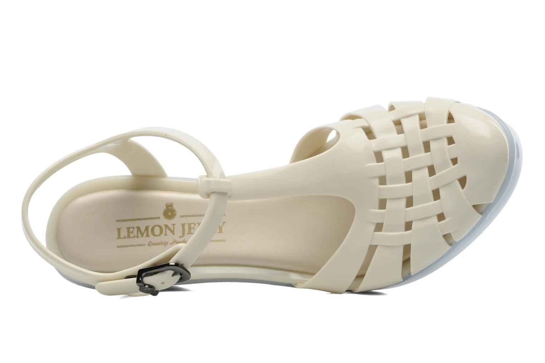 Sandalen Lemon Jelly Samba beige ansicht von links