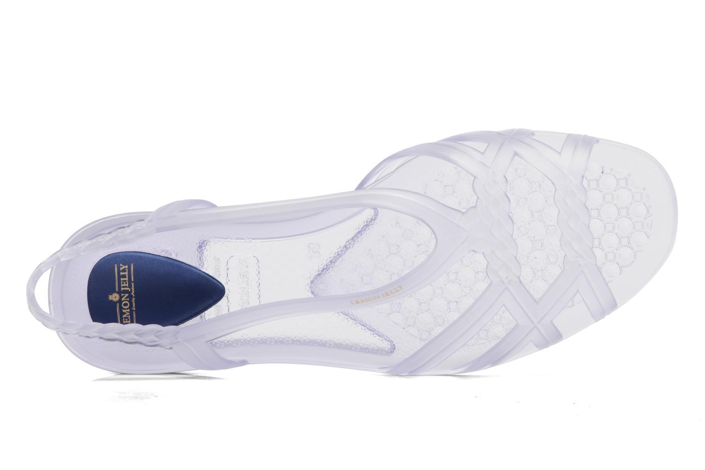 Sandales et nu-pieds Lemon Jelly Mint Incolore vue gauche