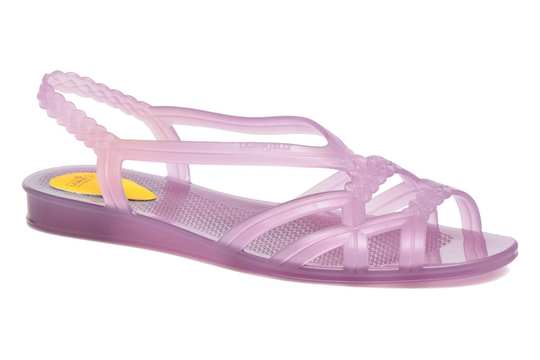 Sandaler Lemon Jelly Mint Lila detaljerad bild på paret