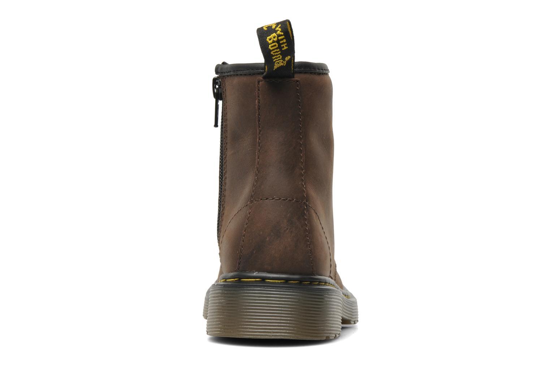 Bottines et boots Dr. Martens Delaney Junior Marron vue droite
