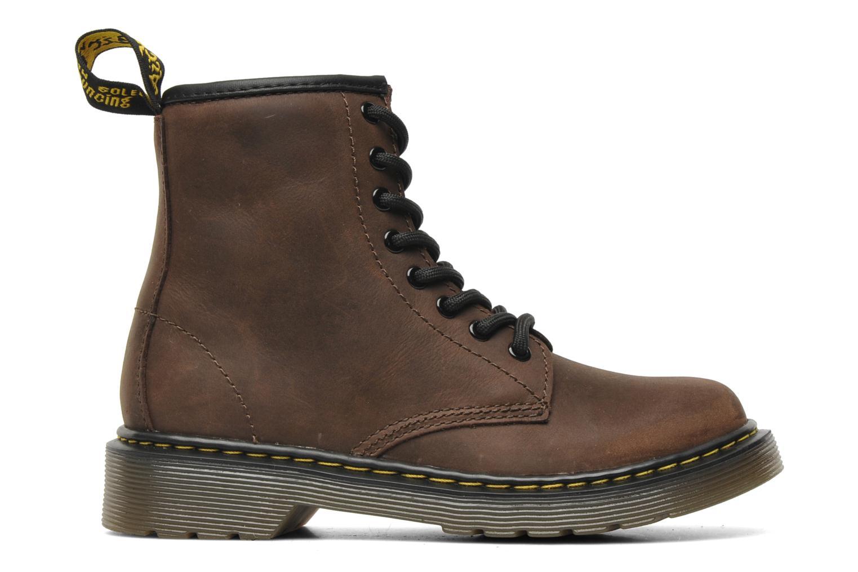 Ankle boots DR. Martens Delaney Junior Brown back view
