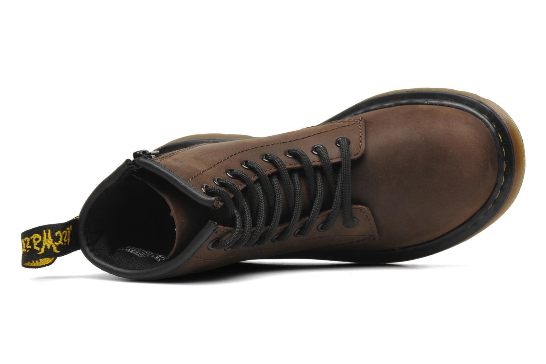 Bottines et boots Dr. Martens Delaney Junior Marron vue gauche