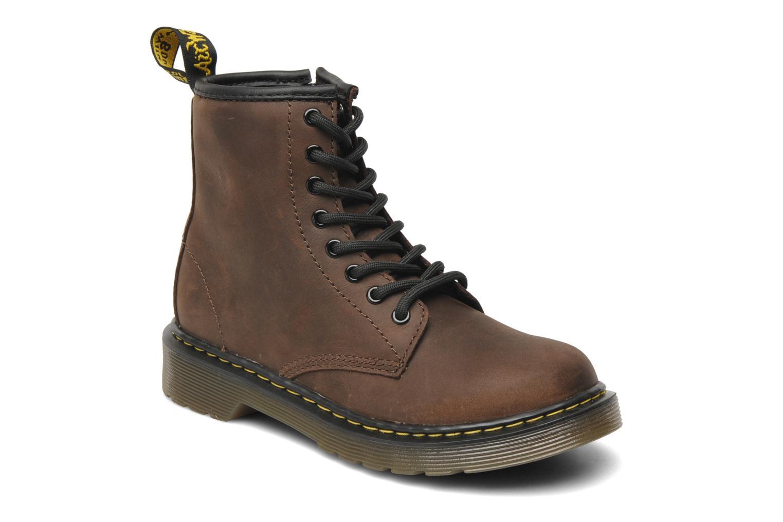 Bottines et boots Dr. Martens Delaney Junior Marron vue détail/paire