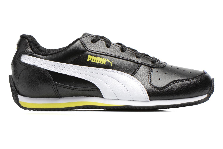Sneaker Puma Fieldsprint L JR schwarz ansicht von hinten
