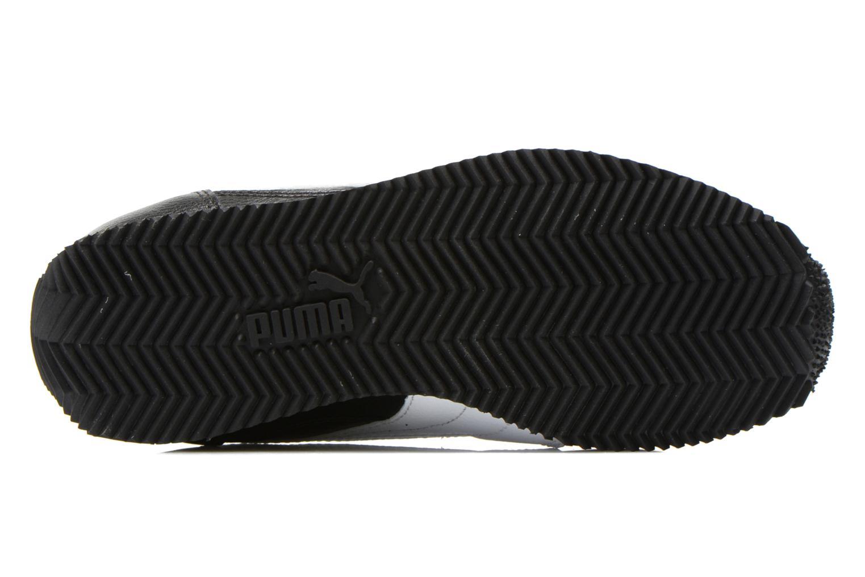 Sneaker Puma Fieldsprint L JR schwarz ansicht von oben