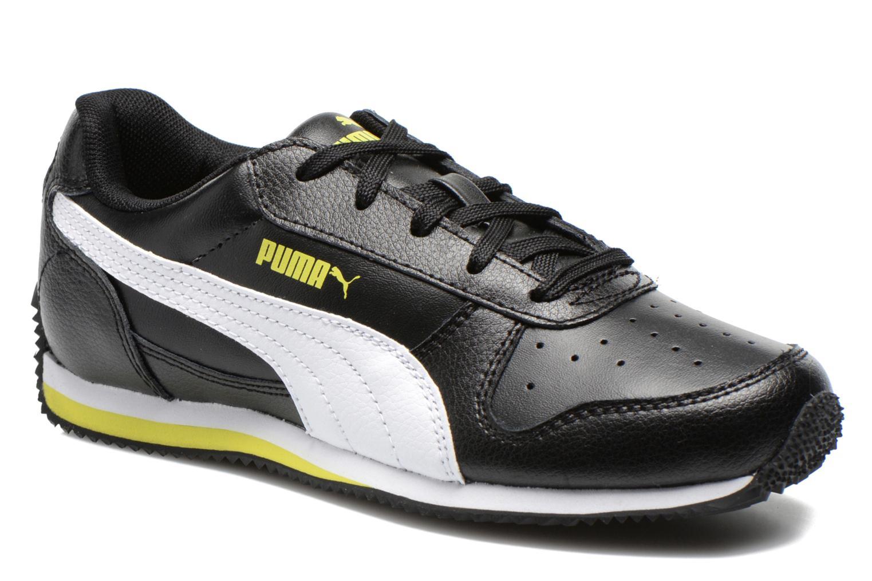 Sneakers Puma Fieldsprint L JR Zwart detail