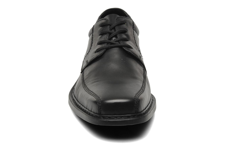 Chaussures à lacets Rieker Doris B0812 Noir vue portées chaussures