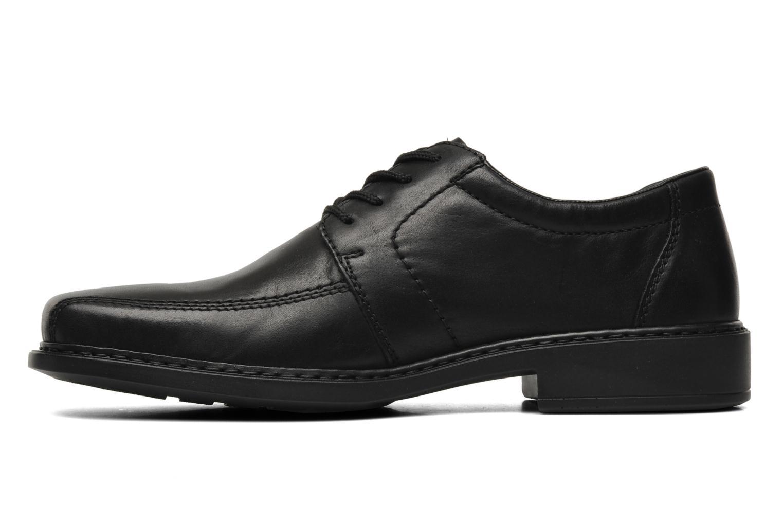 Chaussures à lacets Rieker Doris B0812 Noir vue face