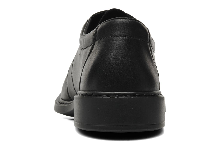 Chaussures à lacets Rieker Doris B0812 Noir vue droite