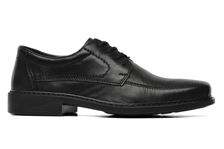 Chaussures à lacets Rieker Doris B0812 Noir vue derrière