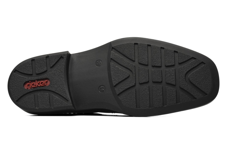 Chaussures à lacets Rieker Doris B0812 Noir vue haut