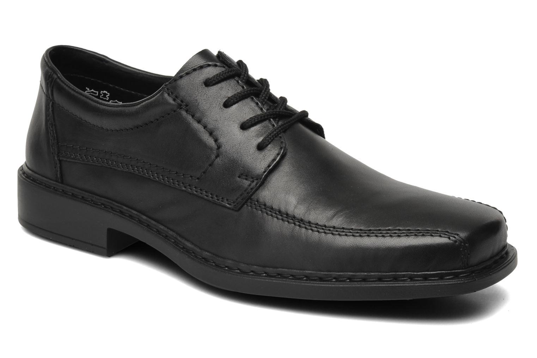 Chaussures à lacets Rieker Doris B0812 Noir vue détail/paire