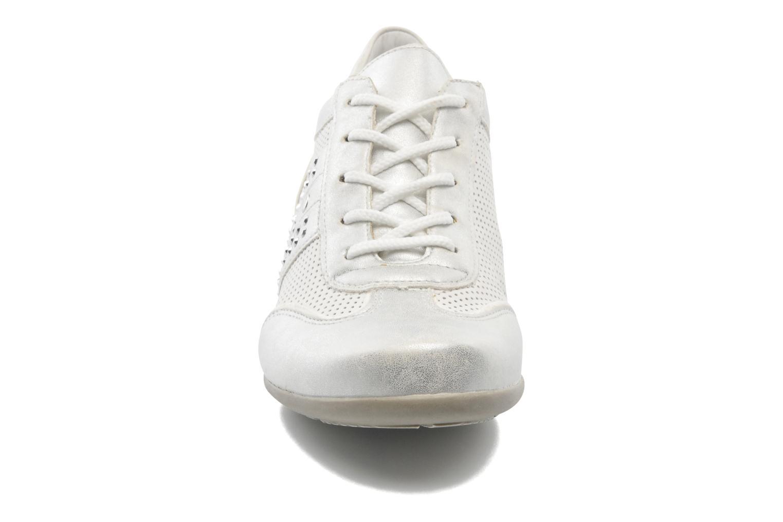 Schnürschuhe Remonte Aram r9802 weiß schuhe getragen