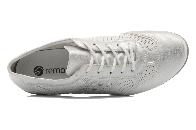 Zapatos con cordones Remonte Aram r9802 Blanco vista lateral izquierda